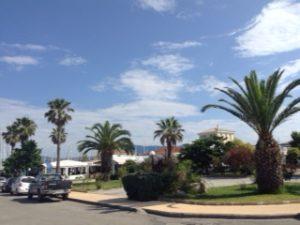 Gouvia Marina entrance
